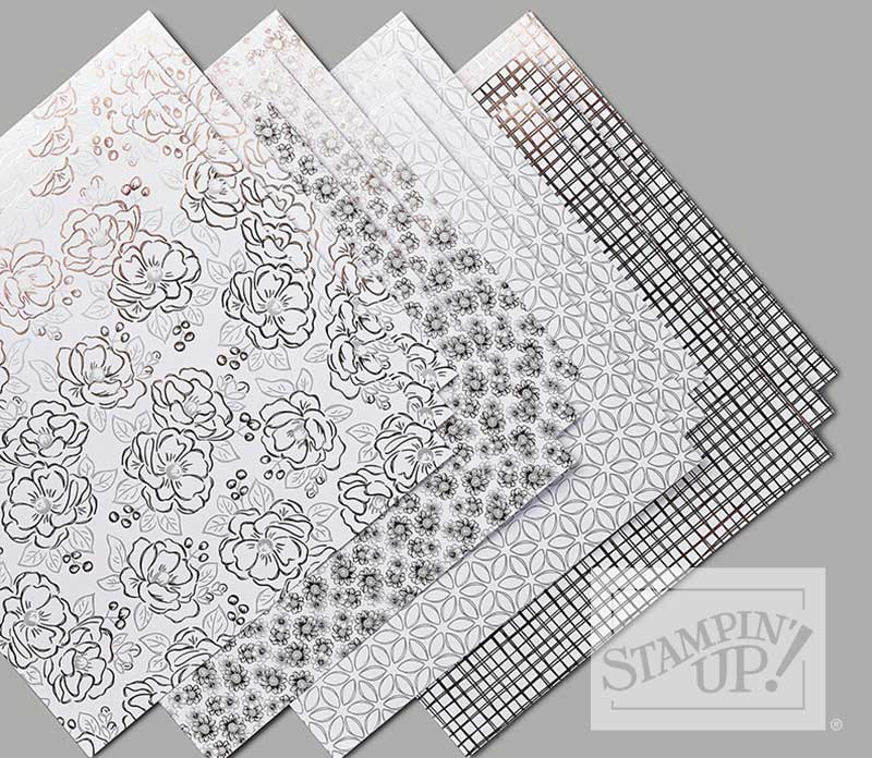 Flowering Foils Specialty Designer Series Paper