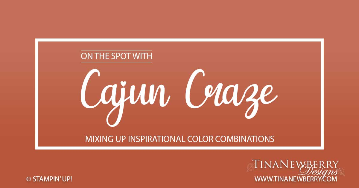 Cajun Craze Color Combinations