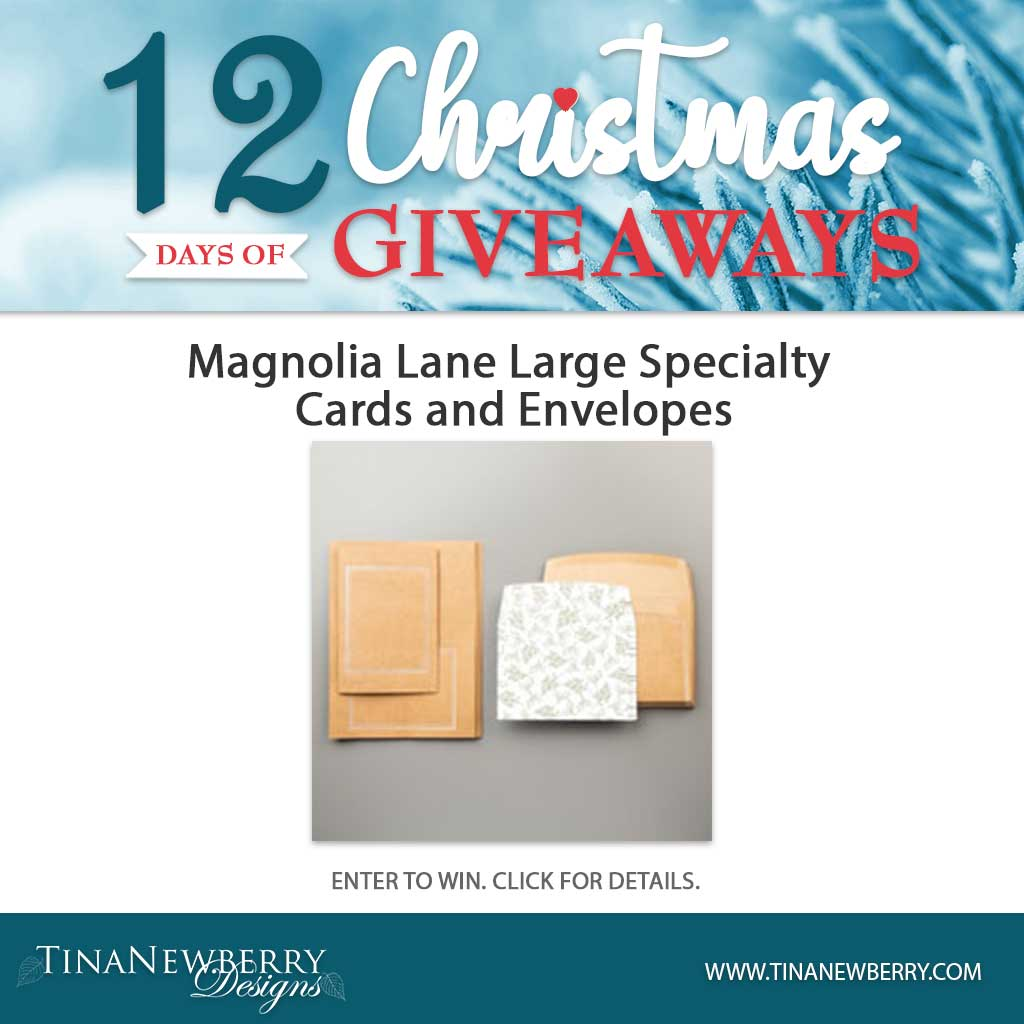 Day #11 - 12 Days of Christmas Giveaways