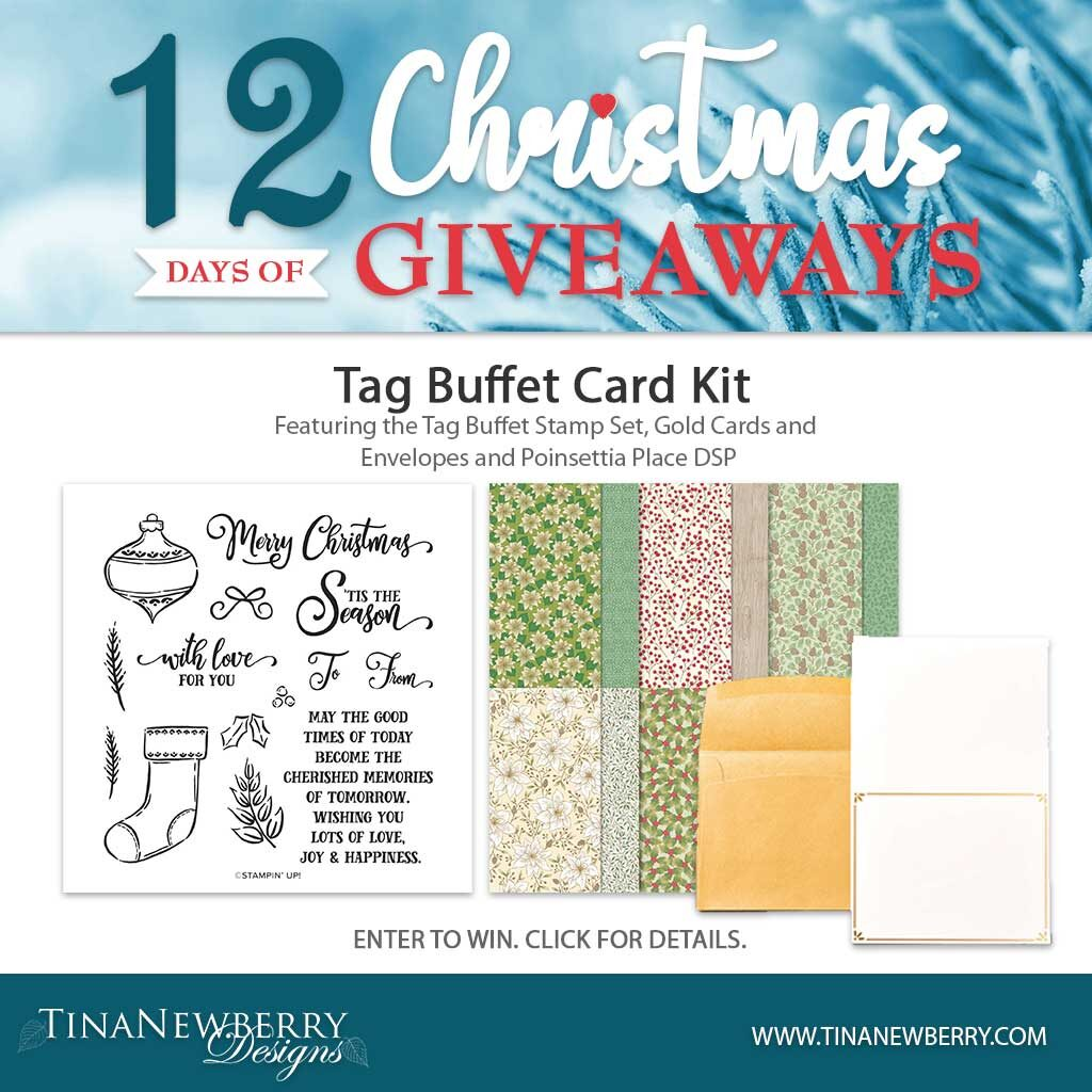 Day #1  - 12 Days of Christmas Giveaways