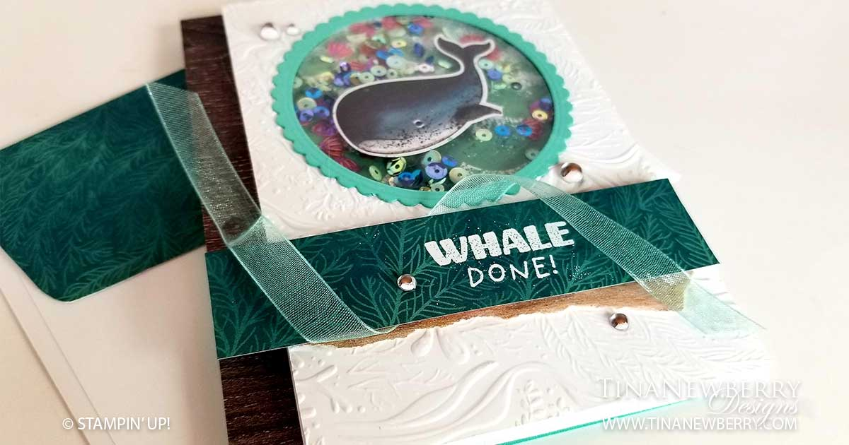 Whale Done! Shaker Card