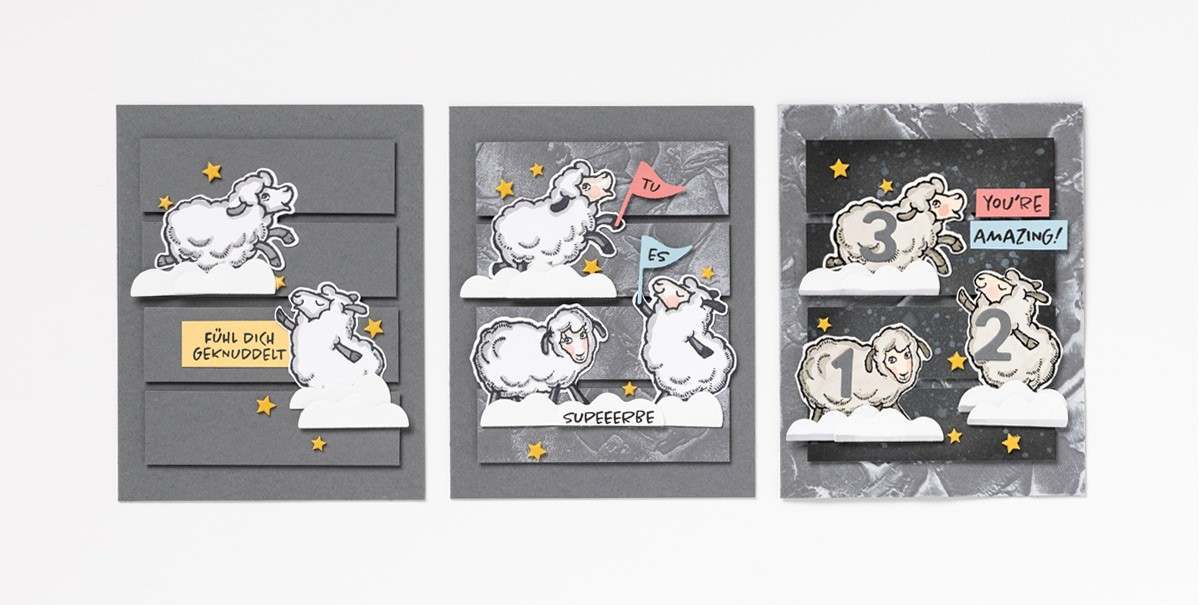 Counting Sheep Step-by-Step